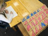 Moveable Alphabet, Clanmore Montessori School