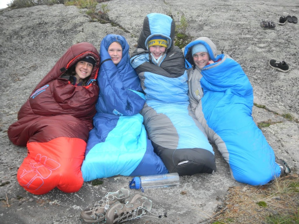 In Our Sleeping Bags