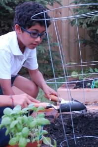 Child Gardening