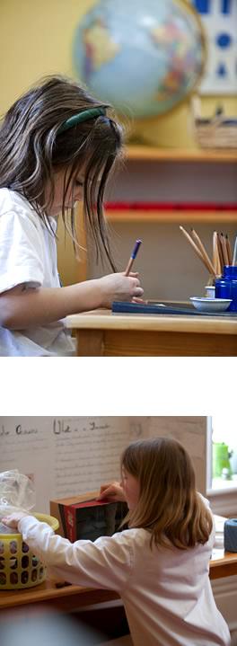 Clanmore Montessori School elementary students