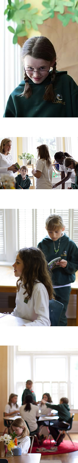 Clanmore Montessori School students