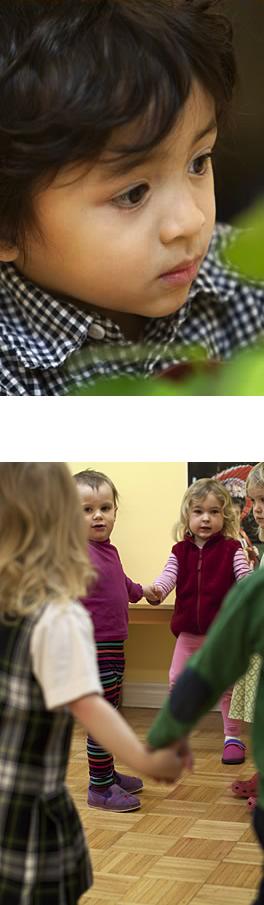 Clanmore Montessori School preschool students