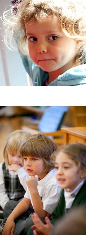 Clanmore Montessori Students